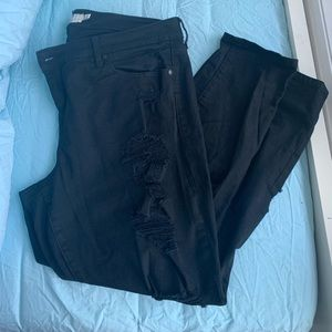 Torrid - Classic skinny with destruction - size 18